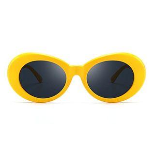 Women Vintage Small Oval Sunglasses