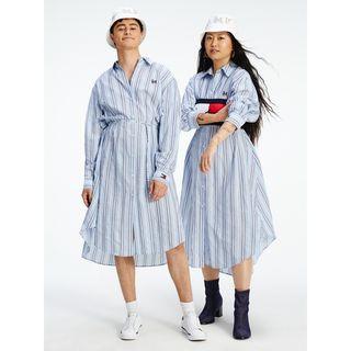 TOMMYXINDYA Archive Stripe Shirtdress