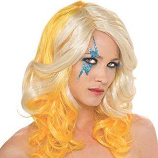 Lady Gaga Two Tone Wig