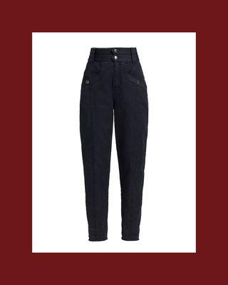 Alexa High-Rise Denim Pants
