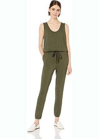 Supersoft Terry Relaxed-Fit Jumpsuit