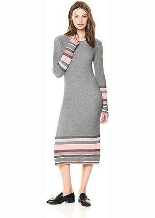 Stripe Ribbed Dress