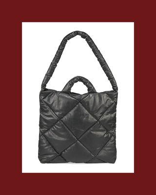 Medium Oil Quilted Pillow Bag