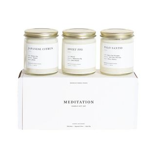 Brooklyn Candle Studio Set of 3 Scented Candle Gift Set