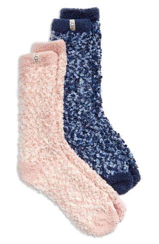 Cozy Chenille Crew Socks