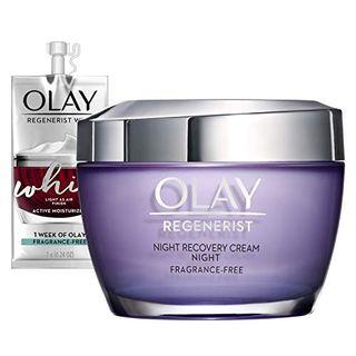 Regenerist Night Recovery Cream Whip Face Moisturizer