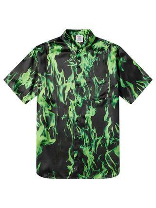 Smoke Fluid Short Sleeve Shirt