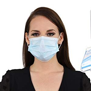 4-Ply Disposable Medical Face Masks (50 Pack)