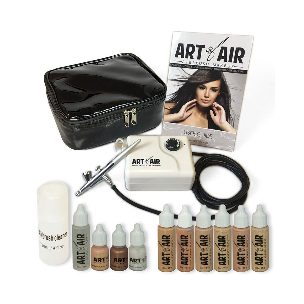 7 Airbrush Makeup Kits To Invest In For