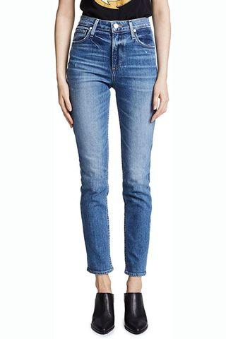 Sarah High-Rise Slim Jeans