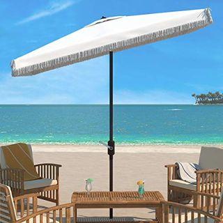 Fringe Crank Umbrella