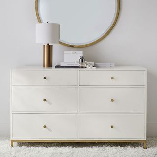 Delaney 6-Drawer Wide Dresser