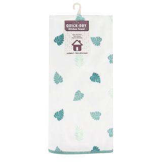 Botanical Print Microfiber Dish Towel