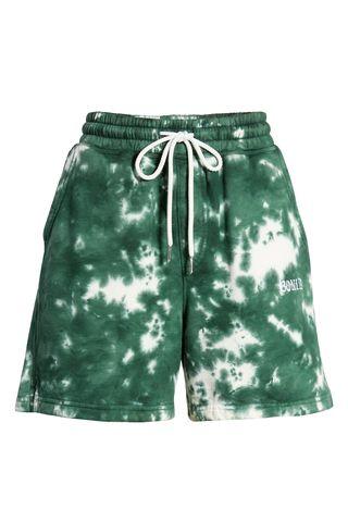 Tie Dye Fleece Shorts