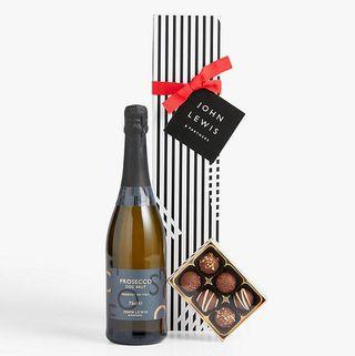 Cadeau unique Prosecco & Chocolats