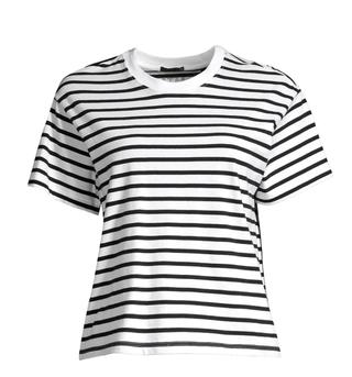 Classic Jersey Striped Short Sleeve Boy Tee