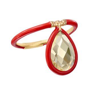 Medium Enamel Flip Ring