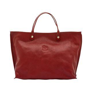 Women's Handbag in Cowhide Double Leather