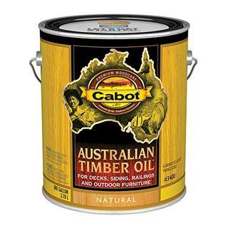 Acabado de aceite de madera natural