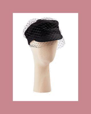 Dior Arty cap with veil