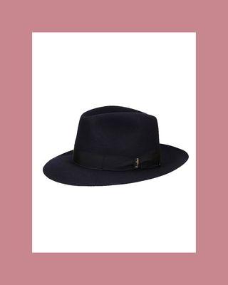 Folar wide-brimmed felt hat