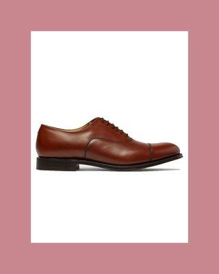 Dubai Polished Leather Oxford Shoes