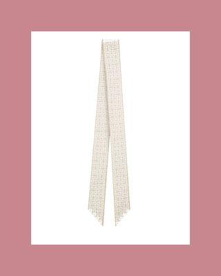 4G silk scarf