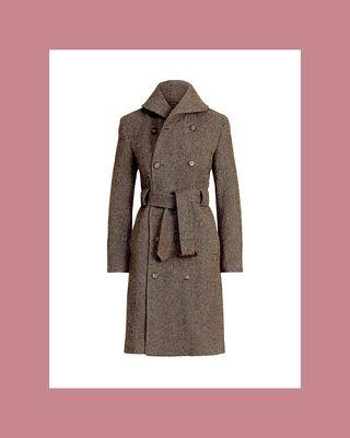 Carlyn Herringbone Coat