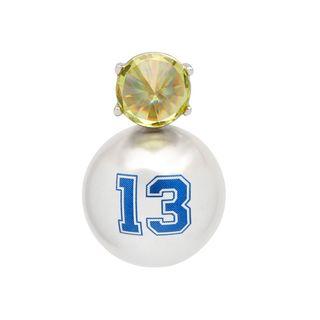 13 Faux Pearl Earrings
