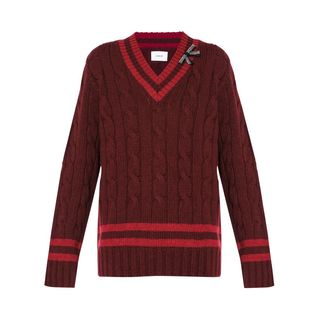 Albertha Cable-Knit Sweater