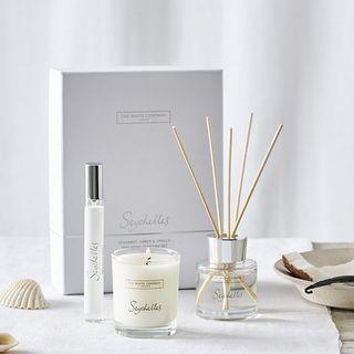 Mini ensemble de parfums pour la maison Seychelles