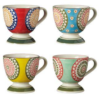 Tasses Florya, Lot de 4 - Multi