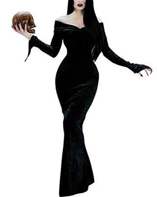 Morticia Addams Dress Costume
