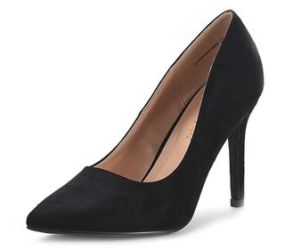 Women's Black High Heel Pump Shoes