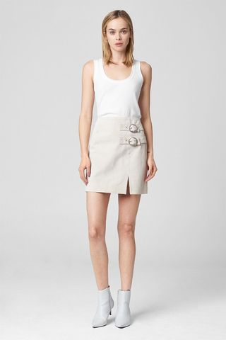 Blank NYC White Sand Skirt