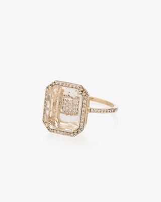 14K Yellow Gold Heart Diamond Ring £1,890