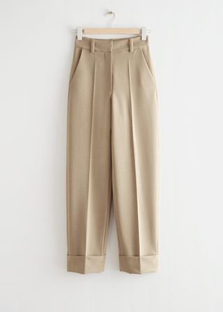 Relaxed Press Crease Trousers