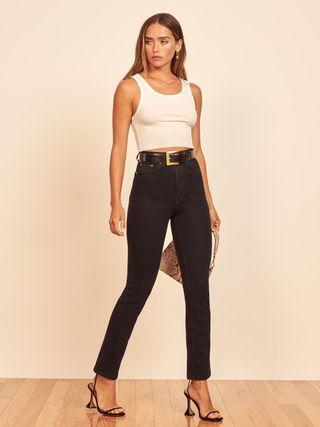 Liza Ultra High Rise Straight Jeans