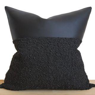 Indi Black Pillow
