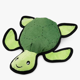 Beco Pets Tommy the Turtle Rough & Tough dog toys made from recycled plastic