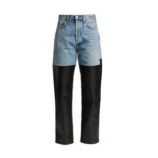 90s pinch-waist jeans