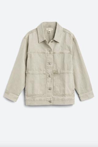 Patch Pocket Trucker Jacket