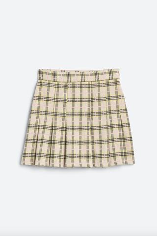 Honey Pleated Skirt