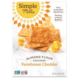 Farmhouse Almond Flour Cheddar Crackers