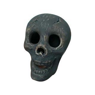 Fireproof Imitated Human Fire Pit Skull Gas Log