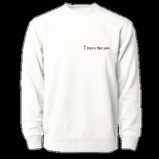 Phenomenal x Bridgerton 'I Burn For You' Crewneck Sweatshirt