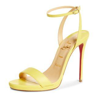 Christian Louboutin Loubi Queen Ankle Strap Sandal