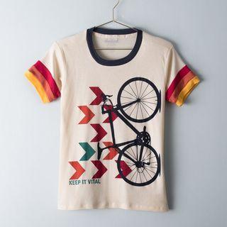 Camiseta de ciclismo Camp Chevron para mujer