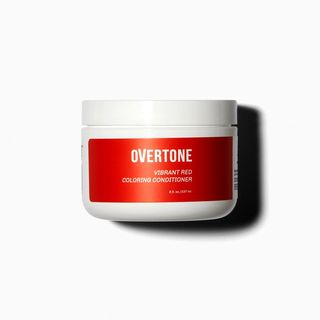Red for brown hair coloring conditioner