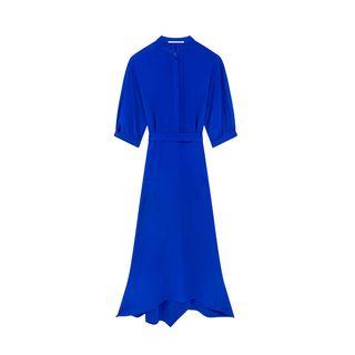 Midi silk dress Olivia